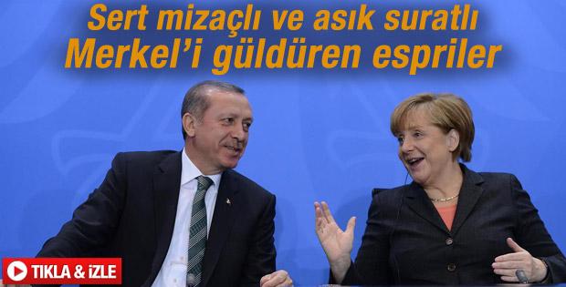 Başbakan'ın Merkel'i güldüren cevabı