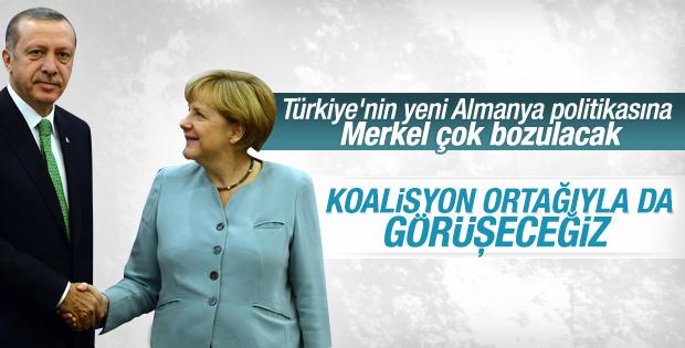 Erdoğan Merkel'in Türkiye çıkışına cevap verdi