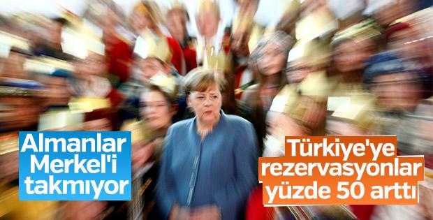 Almanya'dan Türkiye'ye rezervasyonlarda artış