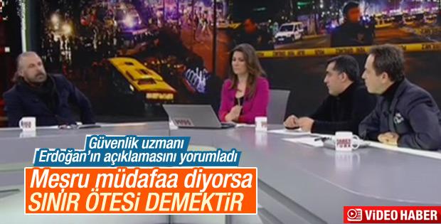 Mete Yarar'dan Erdoğan'ın açıklamasına yorum