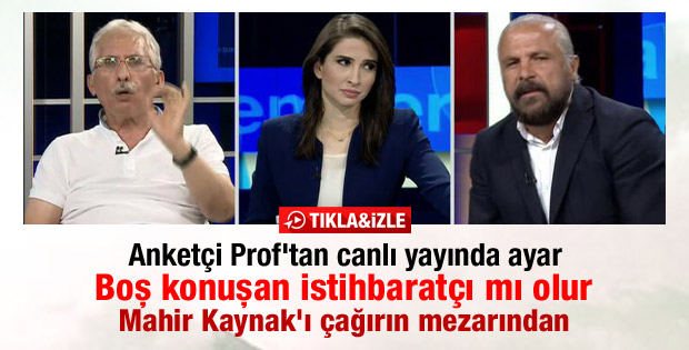 Özer Sencar'dan Mete Yarar'a canlı yayında ayar