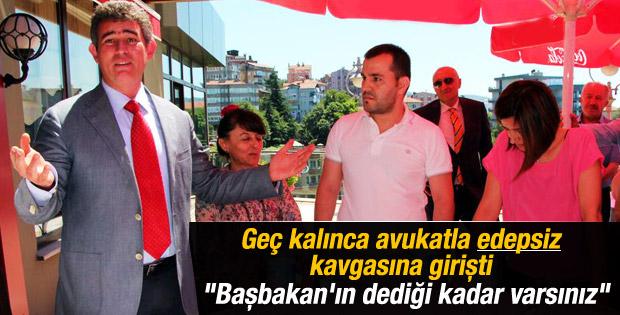 Metin Feyzioğlu programına gecikince avukatlar sinirlendi