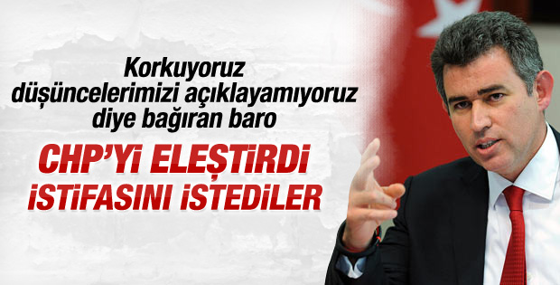 Ankara Barosu Metin Feyzioğlu'nu istifaya çağırdı