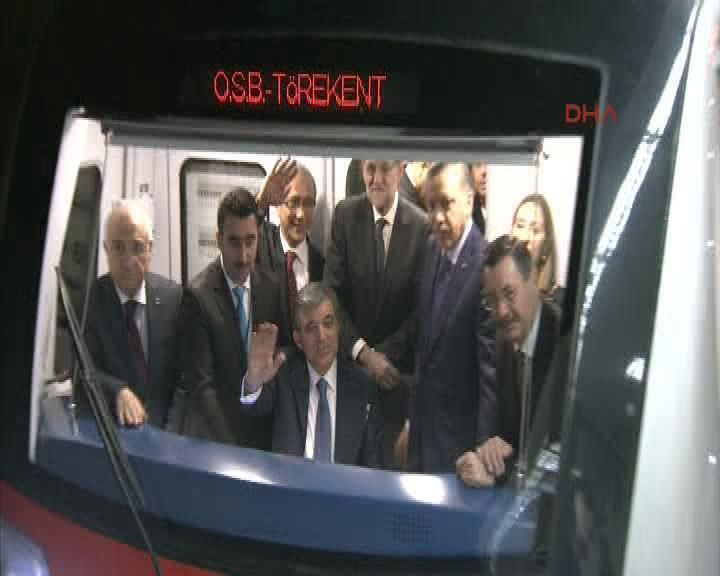 Sincan metrosu açıldı - izle