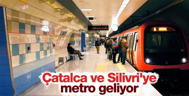 Çatalca ve Silivri'ye metro müjdesi