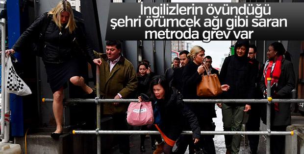 Londra'da metro krizi