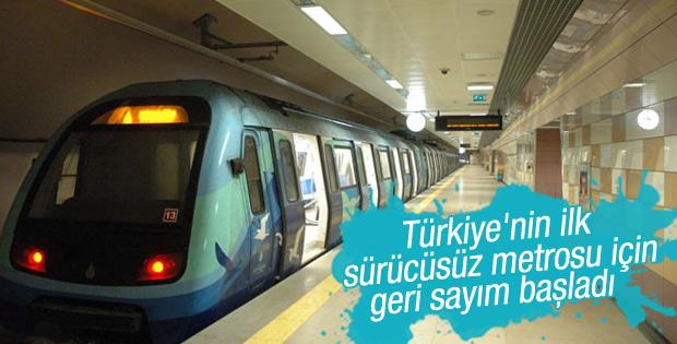 Üsküdar-Sancaktepe metrosu için geri sayım başladı