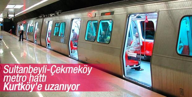 Sultanbeyli-Kurtköy metro hattında ilk adım atıldı