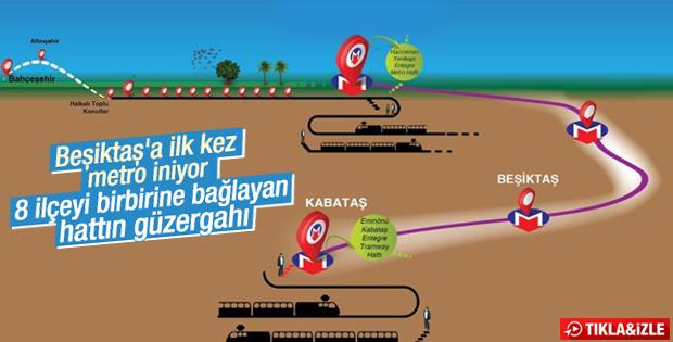 İstanbul'a bir metro daha geliyor