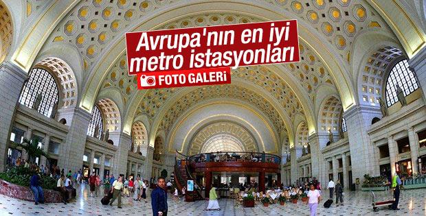 Avrupa'nın en iyi metro istasyonları