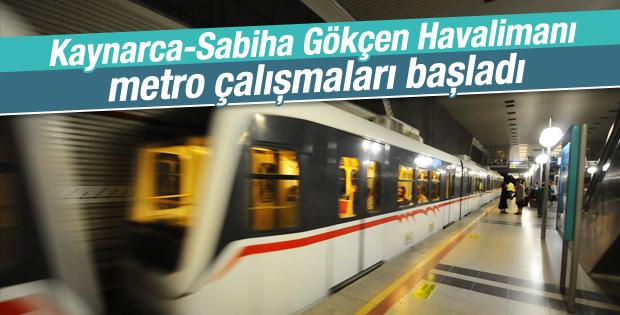 Kadıköy-Sabiha Gökçen Havalimanı arası 46 dakika olacak