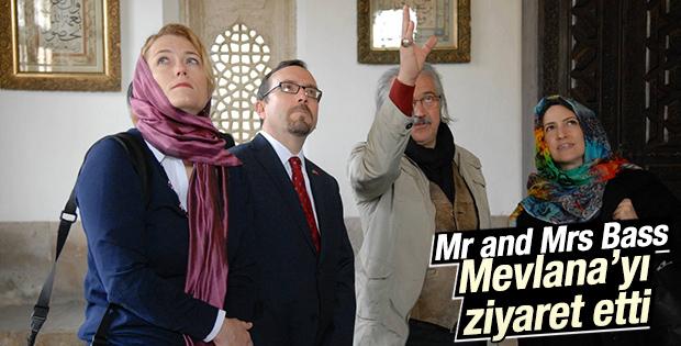 ABD Büyükelçisi Bass ve eşi Konya'yı ziyaret etti