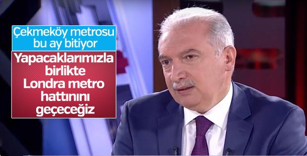 Başkan Uysal: 293 KM'lik metro inşaatımız var