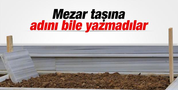 Cem Garipoğlu'nun mezar taşına adı yazılmadı İZLE