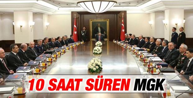 En uzun Milli Güvenlik Kurulu toplantısı