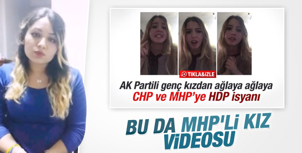 AK Partili genç kıza MHP'li genç kızdan cevap