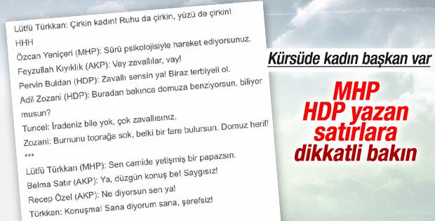 MHP'li Lütfü Türkkan'dan Bahçekapılı'ya çirkin sözler