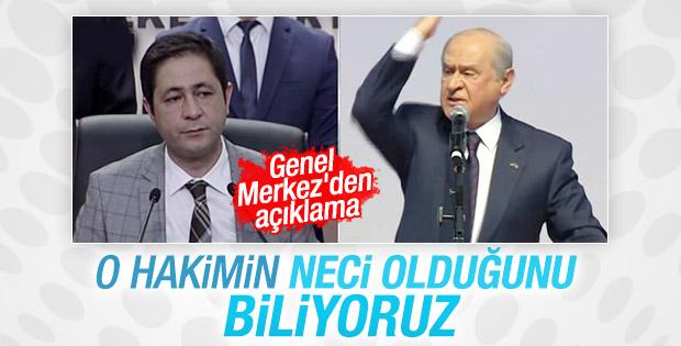 MHP'den İcra Mahkemesi'nin kararına ilk açıklama