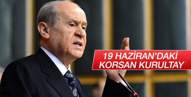 MHP lideri Bahçeli: MHP 19 Haziran'a katılmayacaktır