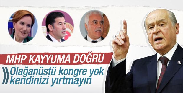MHP Genel Başkanı Bahçeli'den açıklamalar