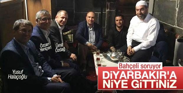 MHP, Diyarbakır'a giden vekillerinden savunma istedi
