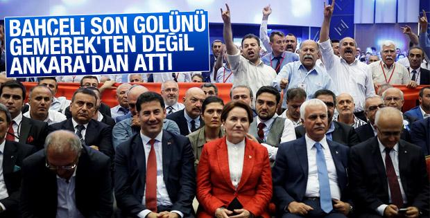 MHP kurultayına ilişkin yürütmeyi durdurma kararı