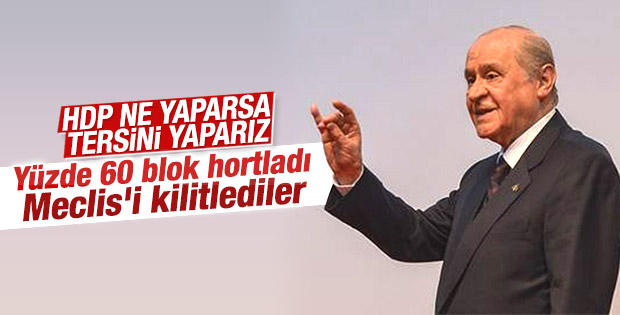 Meclis'te MHP'nin tavrı değişti