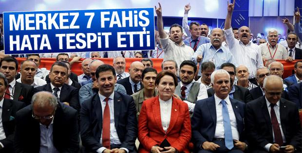 MHP'den kongre açıklaması: Hata var