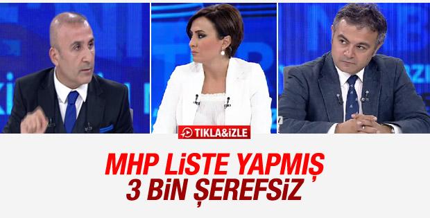 MHP'li Danışman: 3 bin kişilik şerefsiz listesi var