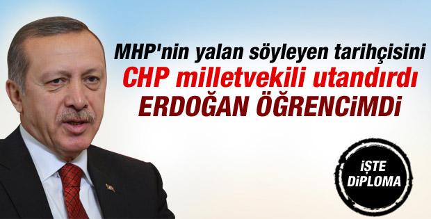 MHP'nin Başbakan Erdoğan iddiasını CHP çürüttü