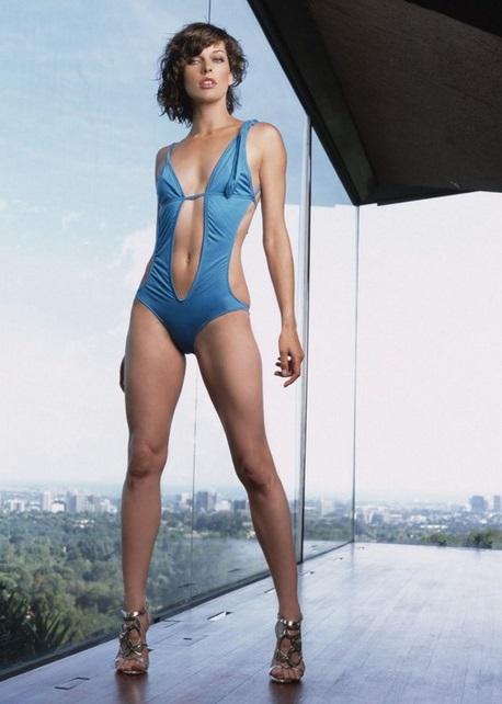 Milla Jovovich Ukrayna için isyan etti