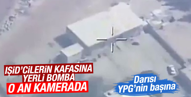 Terör örgütü DAEŞ'e karşı milli bombardıman