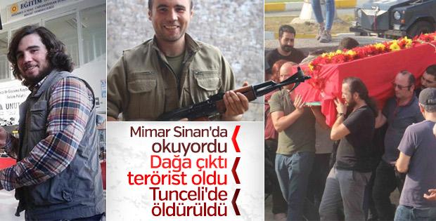 Üniversiteyi bırakıp PKK'ya katılan terörist öldürüldü