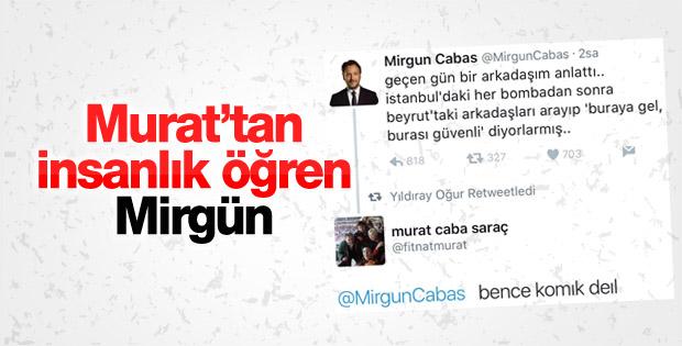 Mirgün Cabas terör saldırısını espri konusu yaptı