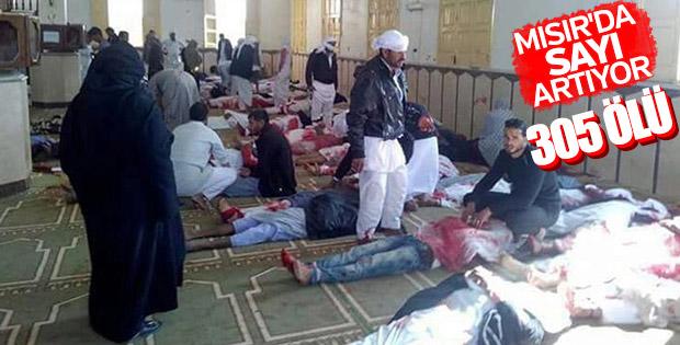 Mısır'daki saldırıda ölenlerin sayısı artıyor