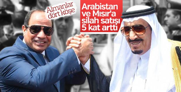 Almanya'dan Mısır ve Suudi Arabistan'a rekor silah satışı