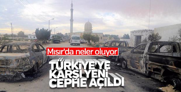Türkiye'ye karşı açılmak istenen yeni cephe: Mısır