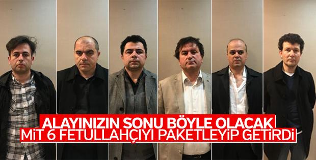 MİT, Balkanlar'daki 6 FETÖ'cüyü Türkiye'ye getirdi