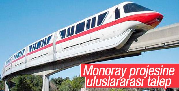 Japonya'dan monoray projesine büyük ilgi