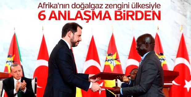 Türkiye - Mozambik arasında 6 anlaşma imzalandı
