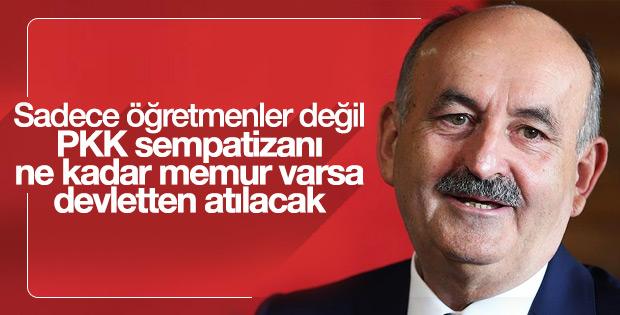 PKK ile ilişiği olan memurlar kovulacak