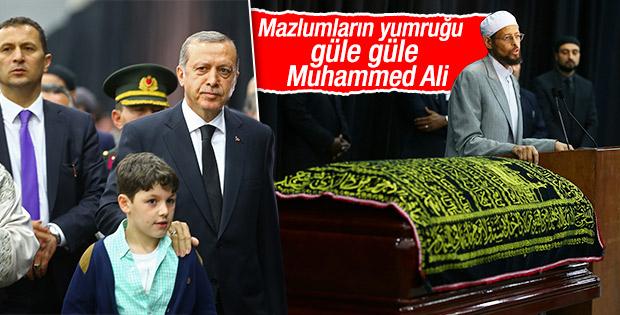 Muhammed Ali'nin cenaze namazı kılındı