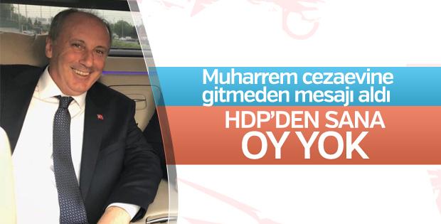 Muharrem İnce'nin HDP planı suya düştü