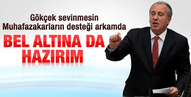 İnce: Ankara'da muhafazakarlar beni destekliyor