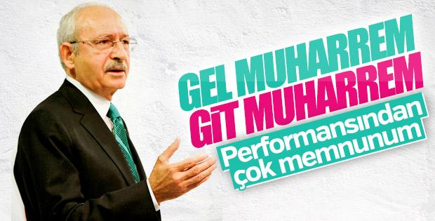 Kılıçdaroğlu, Muharrem İnce'nin performansından memnun