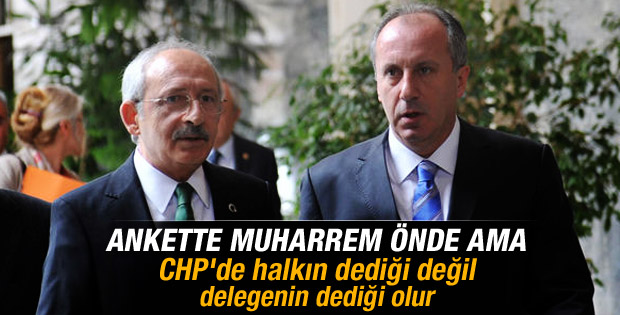Muharrem İnce'nin Kılıçdaroğlu'nu geçtiği anket