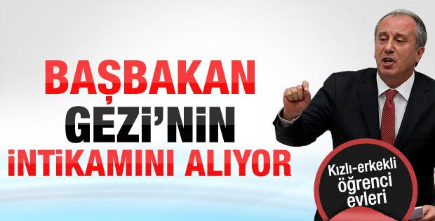 İnce: Erdoğan Gezi'nin intikamını almak istiyor