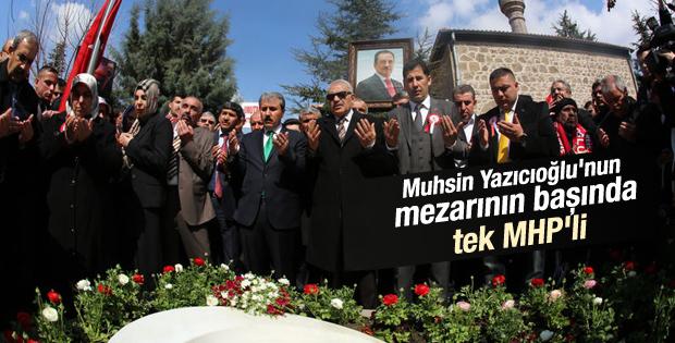 Muhsin Yazıcıoğlu vefatının 6.yılında dualarla anıldı