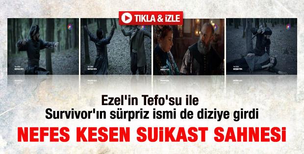 Şehzade Mustafa'ya suikast sahnesi – izle