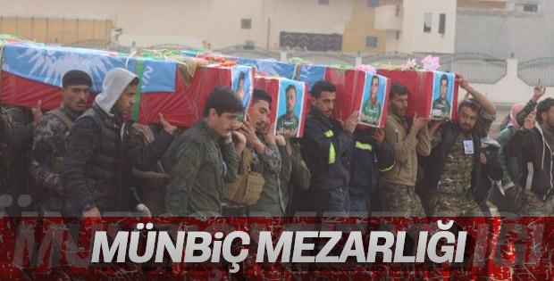 YPG'liler cenazelerini kaldırmaya devam ediyor